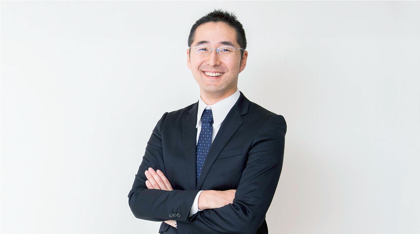代表取締役社長 萩原吉晃 写真