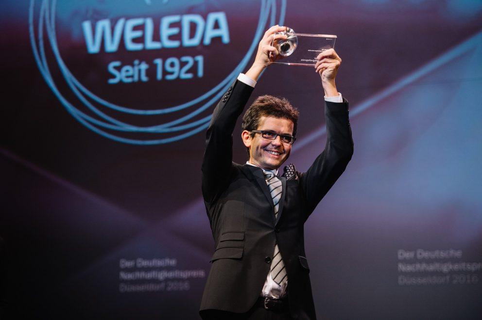 【ヴェレダ】Germany's most sustainable brand 2016(ドイツで最もサステナブルなブランド)」を受賞しました!
