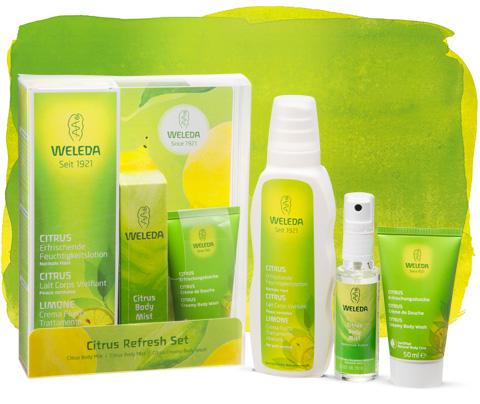 【ヴェレダ】数量限定セット発売!オーガニックレモンが爽やかに香るシトラスシリーズ オンライン限定キャンペーンも実施中!