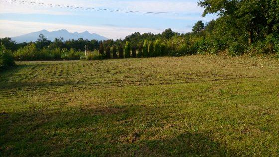 ③整備の整った農場駐車場