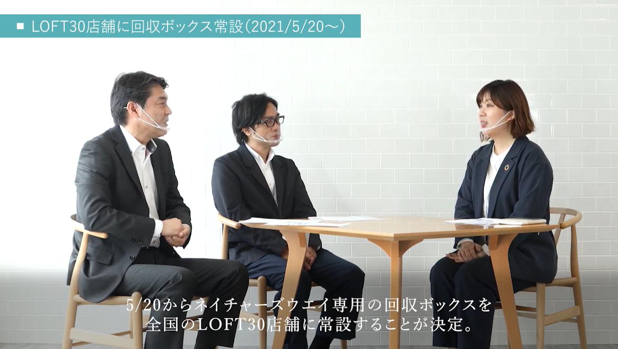 NW×LOFT 対談 (株式会社ロフト 商品部 健康雑貨部 バイヤー 高田 佳奈 氏)